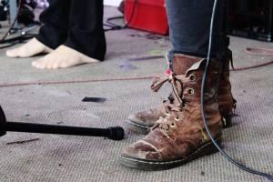 Boots, feet